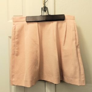 French Connection Peach Mini Skirt